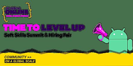 droidcon Level Up - Soft Skills Summit & Virtual Hiring Fair Americas 2021 boletos