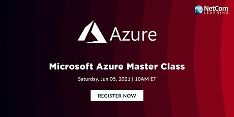 Live Event - Microsoft Azure Master Class tickets
