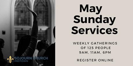 May 30, 2021  Sunday Service Registration tickets