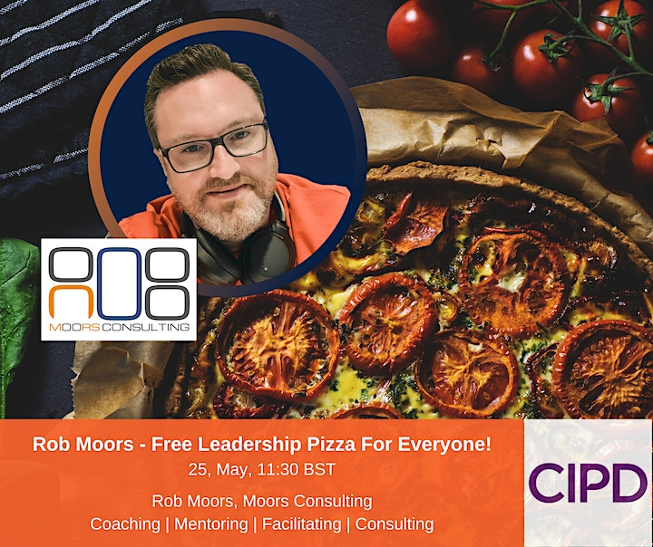 Free Leadership Pizza for Everyone! - Presented by Rob Moors image