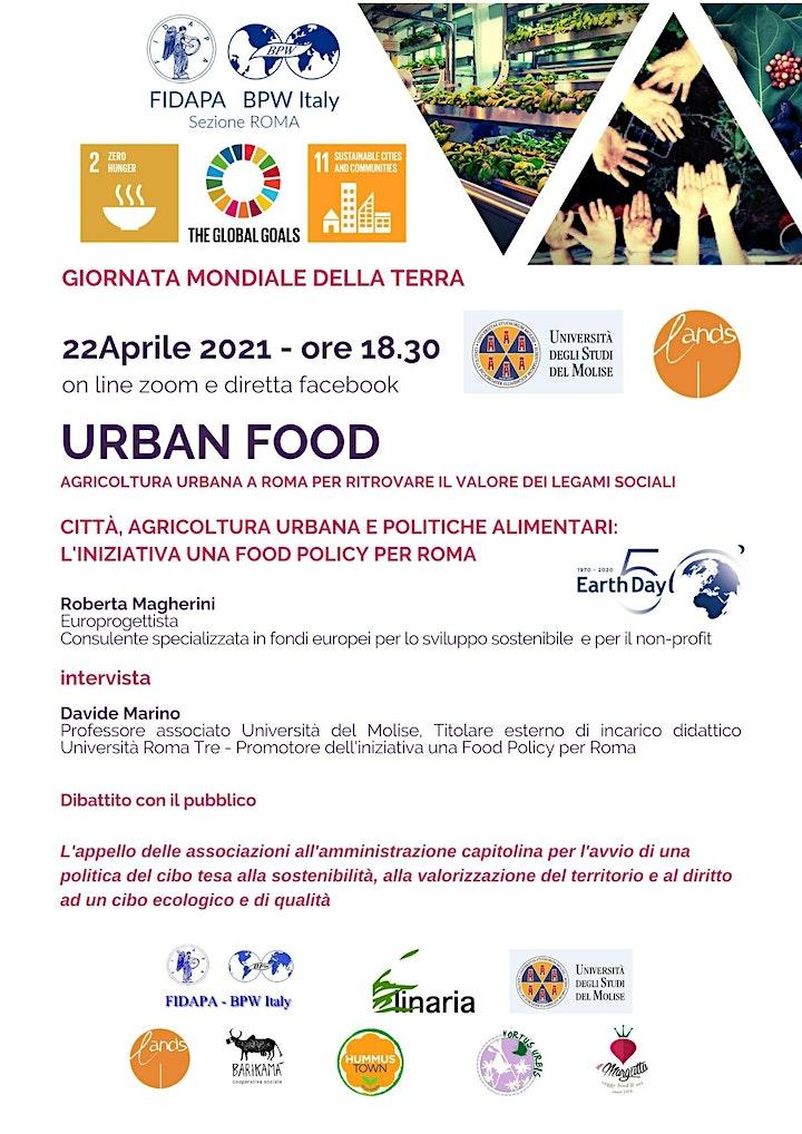 Immagine Urban Food : uno sguardo alla città di  Roma