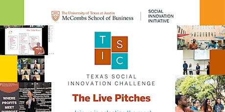 Texas Social Innovation Challenge: The Live Pitches tickets