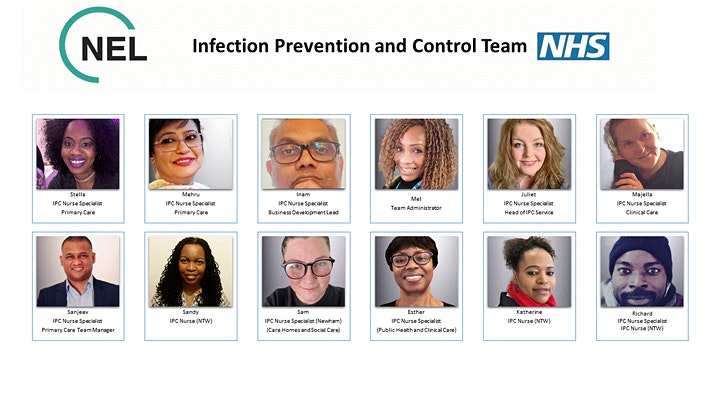 Infection Prevention & Control Advice for Community Care Settings in London image