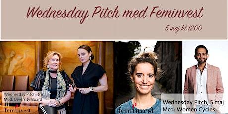 Wednesday Pitch med Feminvest biljetter