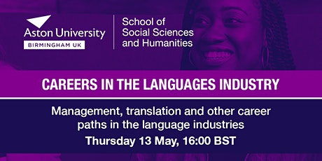 Management, translation & other career paths in the language industries tickets