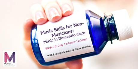 Music Skills for Non-Musicians: Music in Dementia Care tickets