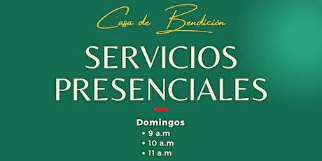 Casa de Bendición - Servicios Domingos entradas