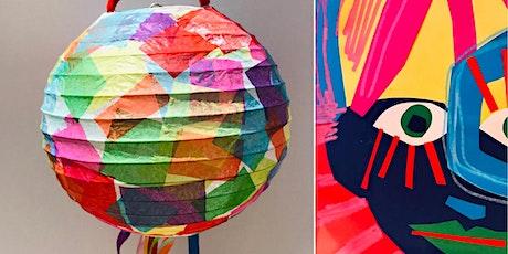Giant Lanterns: Colourful Minds Art Camp at Kiln Workshop tickets