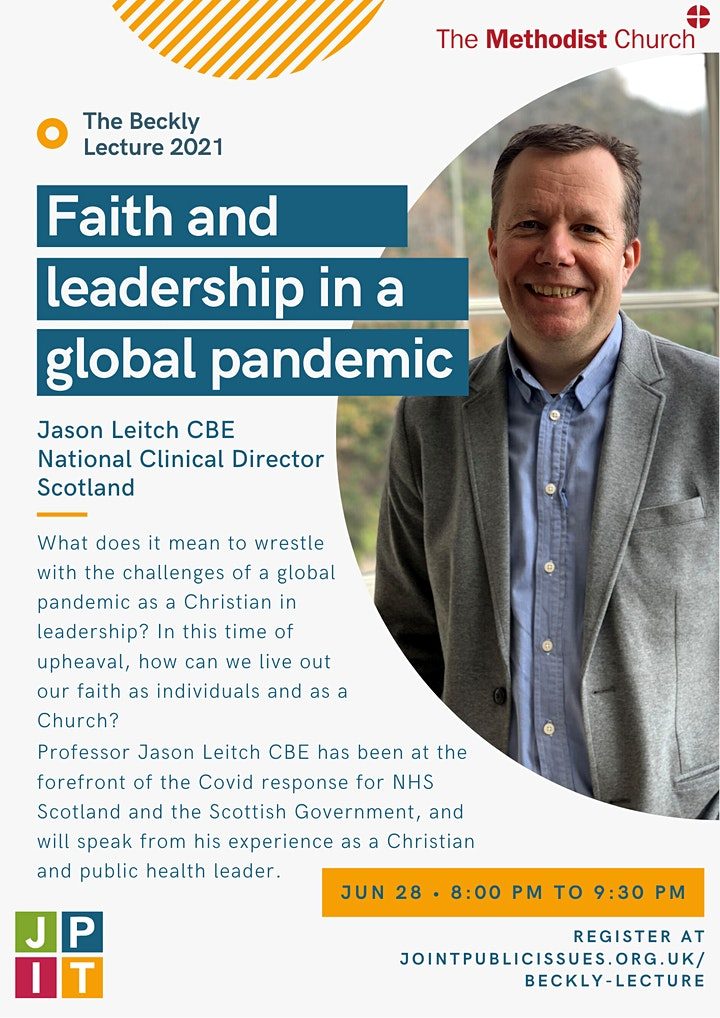 Faith and leadership in a global pandemic: Beckly Lecture 2021 image
