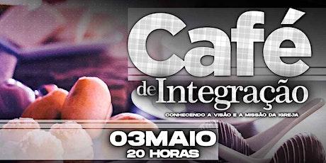 Café de integração - 03/05/2021 ingressos