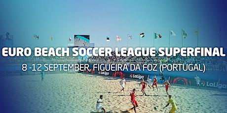 Euro Beach Soccer League Superfinal tickets