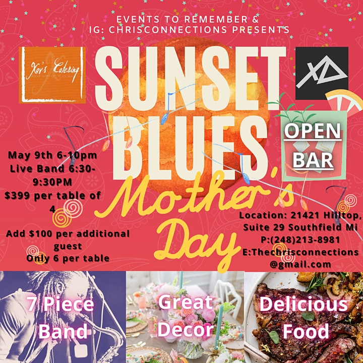 Sunset Blues Mother's Day Event image