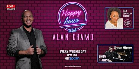 Virtual Happy Hour with Alan Chamo  | featuring Vocalist Ella Glasgow tickets