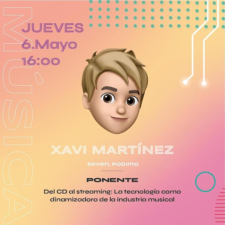 Imagen de festinfor 2021 talks: Del CD al streaming, música y tecnología.