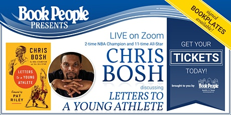 BookPeople Presents: An Evening with NBA Champion Chris Bosh tickets