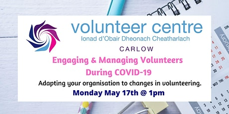 Engaging and Managing Volunteers During COVID-19 tickets
