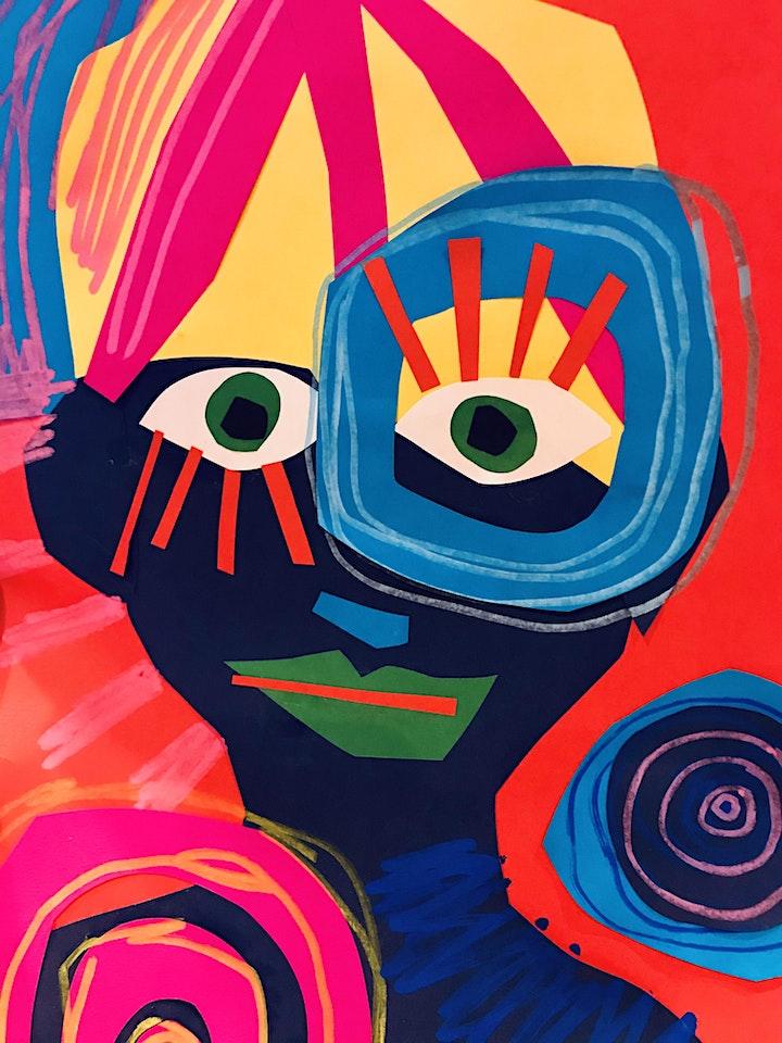 Giant Lanterns: Colourful Minds Art Camp at Kiln Workshop image