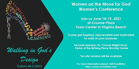 Women On The Move For God Walking In God's Design tickets