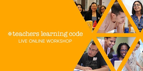Live Online TLC: Python for Educators (18+) - Edmonton (2hrs) tickets