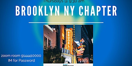 Discover Brooklyn Business Virtual Networking meeting Thursdays @ 9:30am tickets