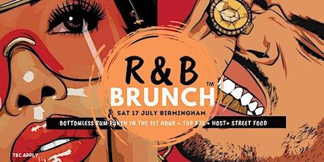 R&B Brunch BHAM - 31 JULY tickets