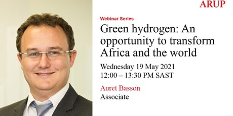 Green hydrogen: An opportunity to transform Africa and the world tickets
