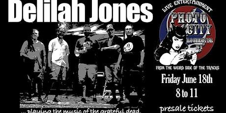 Delilah Jones tickets