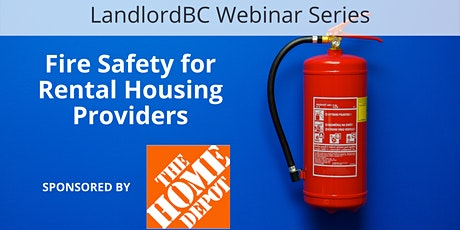 LandlordBC Webinar Series - Fire Safety for Rental Housing Providers tickets