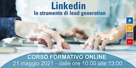Linkedin: lo strumento di lead generation biglietti