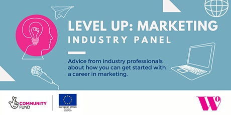Level up Industry panel: MARKETING Tickets