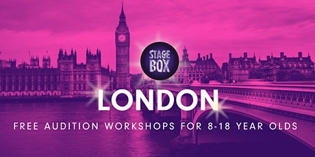 Free Stagebox London Audition tickets