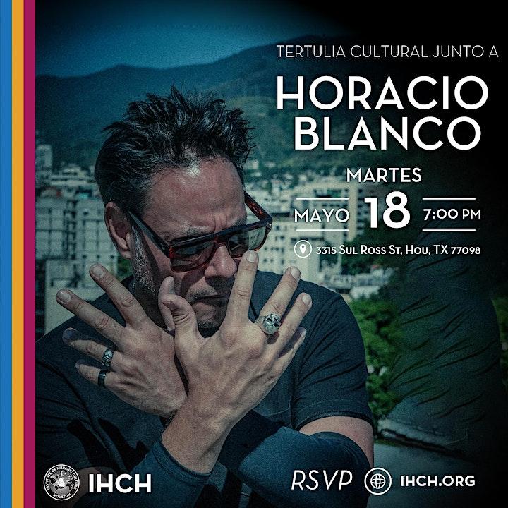 Tertulia Cultural junto a Horacio Blanco image