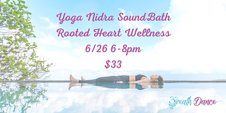 Yoga Nidra Sound Bath tickets