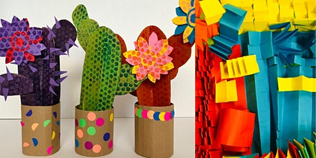 Make a Cactus: Colourful Minds Art Camp at Kiln Workshop tickets
