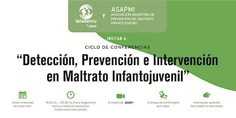 Detección, Prevención e Intervención en Maltrato Infantojuvenil entradas