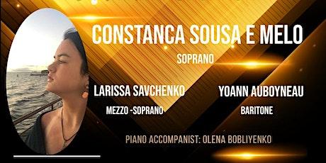The New World Opera Stars in Virtual Concerts/Constanca Sousa e Melo Tickets