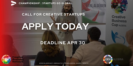 Creative Business Cup Algeria tickets