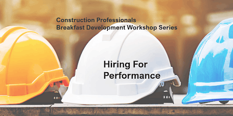 Hiring For Performance tickets