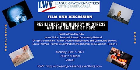 "Screening of ""Resilience: The Biology of Stress and the Science of Hope"" tickets"