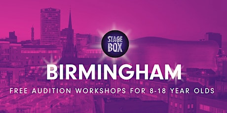 Free Stagebox Birmingham Audition tickets