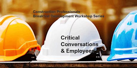 Critical Employee Conversations tickets
