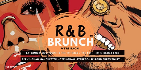 R&B Brunch MCR - 23 OCT tickets