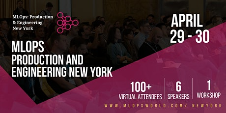 MLOps, Production & Engineering  New York tickets
