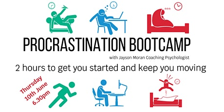Procrastination Bootcamp: 2 hours to get you started and keep you moving! tickets
