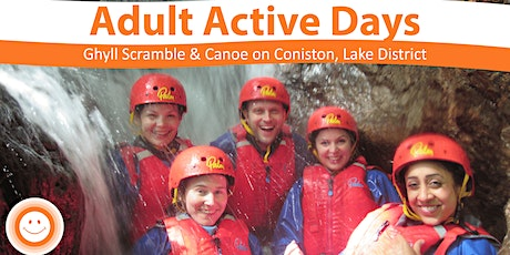 Adult Active Day Ghyll Scrambling & Mindful Canoe tickets