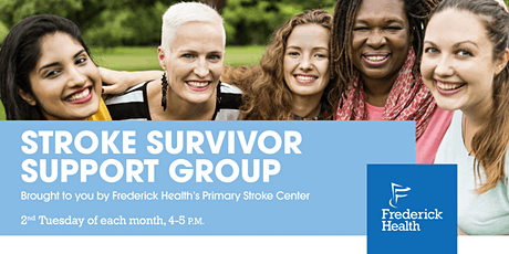 Frederick Health Stroke Survivor Support Group (Virtual) tickets