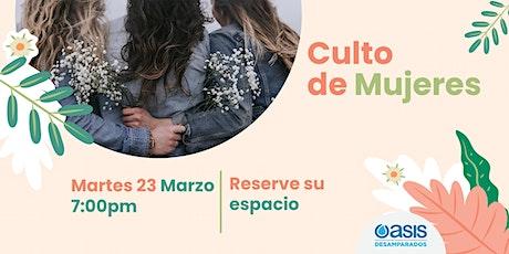 Culto de Mujeres | 27 de Abril entradas