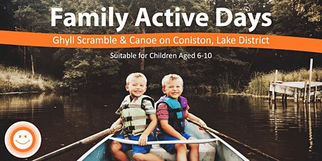 Family Active Day Ghyll Scrambling & Mindful Canoe tickets