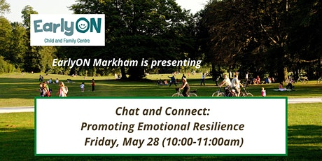 Chat and Connect: Promoting Emotional Resilience tickets
