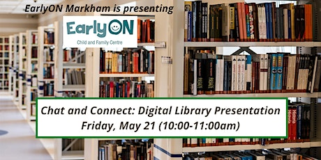 Chat and Connect: Digital Library Presentation tickets